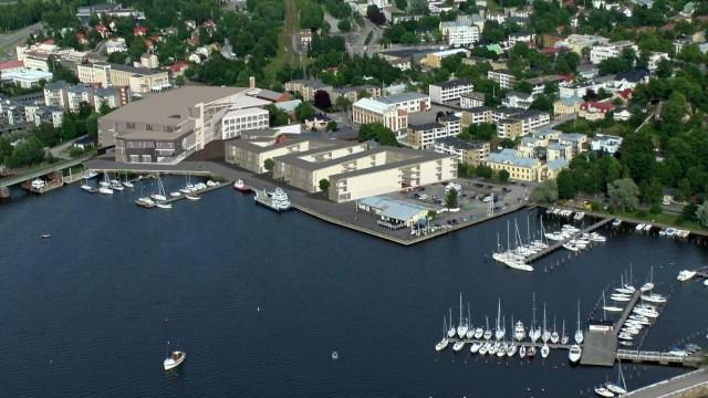 Norra hamnen Bild: Arkitektbyrå R.Wingren Ab