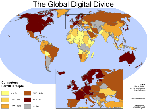 Global Digital Divide Wikipedia