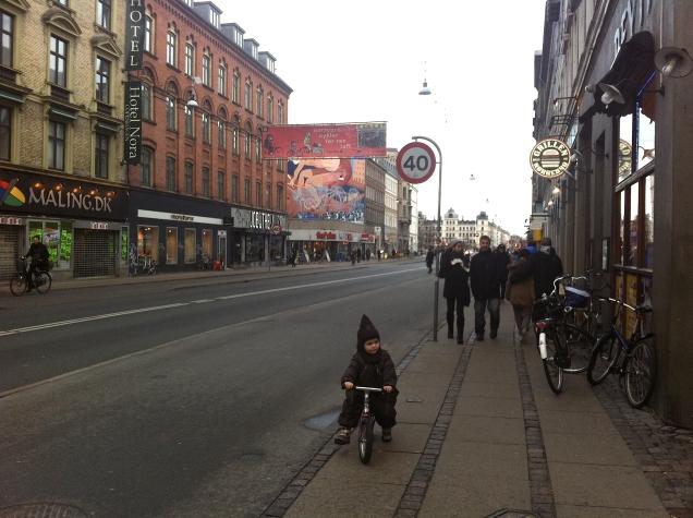 Norrebro cyklar för ren luft