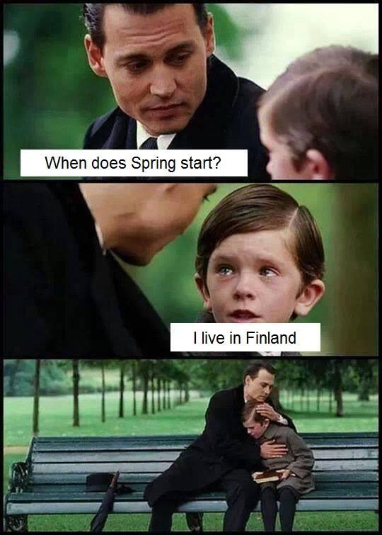 Finland cold
