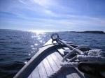 tip of boat