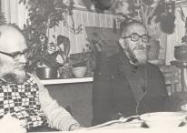 Abbé Pierre at Emmaus Westervik