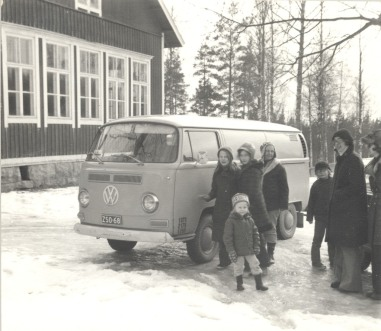 The first time by the Västervik school