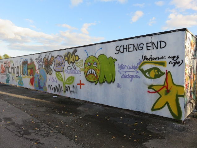 Vår graffitivägg idea Camp 2015